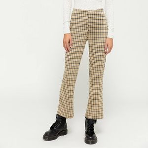 Urban outfitters cropped flare pants